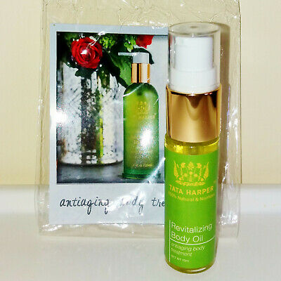Tata Harper Revitalizing Body Oil 15 ml Deluxe Travel Size Brand New