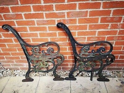 Cast Iron Victorian Style Bench Ends