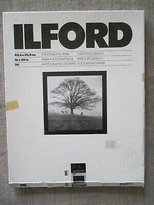 Ilford 16 x 20 Multigrade III RC Deluxe Pearl Photographic Paper 37 Sheet Box