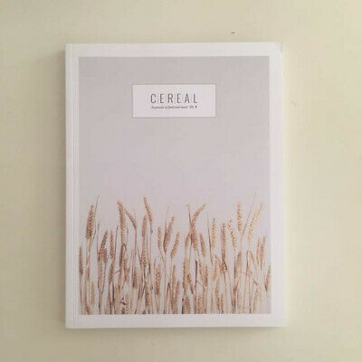 Cereal magazine Vol 4 - Food and Travel