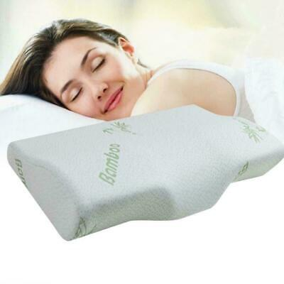 New Luxury Bamboo Memory Foam Pillow Soft Anti-bacterial Neck Premium Suppo K2L7
