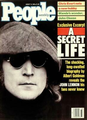 John Lennon magazine People Weekly - two issues USA 15 & 22 AUGUST 1988 1988