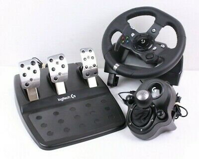 LOGITECH G920 DRIVING Force Racing Wheel and Pedals for XBOX ONE and