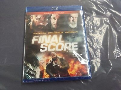 Final Score    ( Blu-Ray   +Digital Hd  ) Brand New Sealed