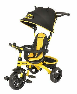 KidsEmbrace DC Comics Batman 4-in-1 Push and Ride Stroller Tricycle Free Ship!