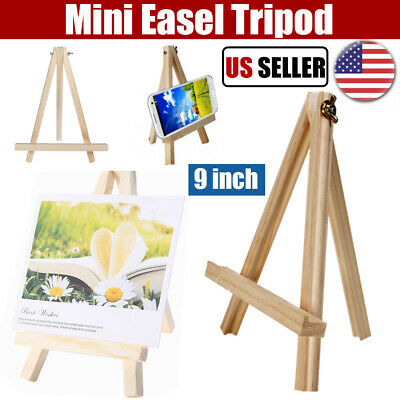 9 Small Wood Easel Table Top Drawing Stand Wedding