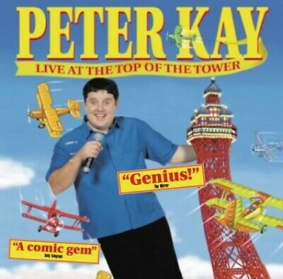 Peter Kay: Live at the Top of the Tower by Kay, Peter Paperback Book The Cheap