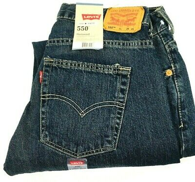 Young Men's/boy's Levis 550 Relaxed Fit Dirty Fade Jeans, Sz 9H 29 x 25