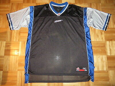 6a75fe163a5b8 MONTREAL ALOUETTES CFL Jersey by Reebok. Size L. White, Red & Blue ...