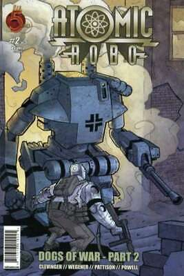 Atomic Robo: Dogs of War #2 in Near Mint condition. [*2p]