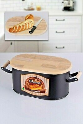 Decorative Vintage Color-Coated Steel Bakery Bin/Bread Box/Bread Storage