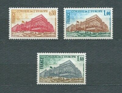 FRANCE SERVICE - 1977 YT 53 à 55 - TIMBRES NEUFS** LUXE