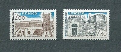 FRANCE SERVICE - 1983 YT 75 à 76 - TIMBRES NEUFS** LUXE