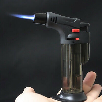 Triple Torch Jet Flame Refillable Butane Gas Cigar Cigarette - Lighter Windproof