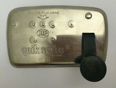 Vintage Quik Splice Film Cutter Splicer