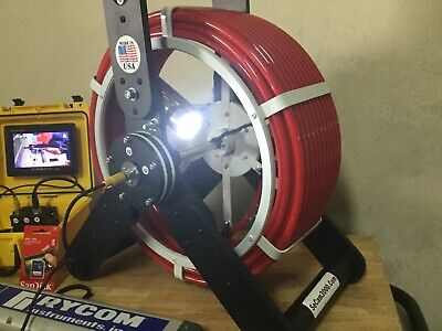 150FT 512hz With Transmitter And Depth Locator Wand Recordable Sewer Camera