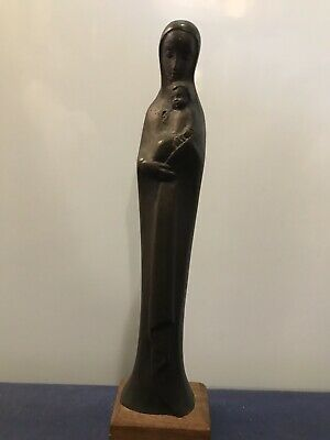 Leopoldine Mimovich OAM (1920-) Bronze Sculpture/Statue of Madonna & Child
