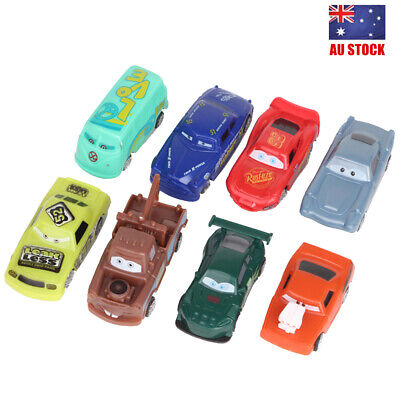 Cars Lightning Mater McQueen Doc Hudson Movie 8 PCS Action Figure Toy Kids Gifts