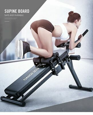 Bench Press Sit Up Abs Exerciser Multifunction Fitness Machines Gym Weight Loss