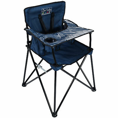 Ciao! Baby Portable High Chair, Navy - Free Shipping