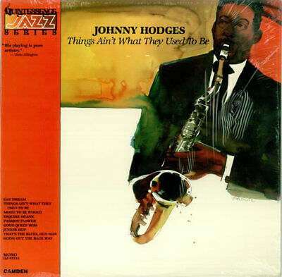 Johnny Hodges Things Ain't What They Used To Be USA vinyl LP album record