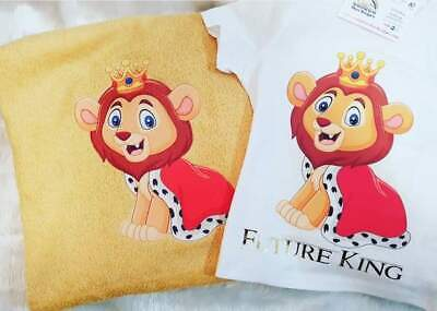 Future King Bath Towel And T-Shirt Pack