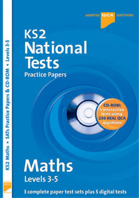 Letts Key Stage 2 Practice Test Papers - Maths National Tests (SATs), inc. CD-Ro