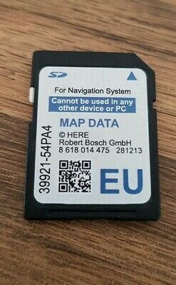 Suzuki Slda 39921-54Pa4 Sd Card Map Europe  Sx4 S-Cross, Vitara, Swift Genuine