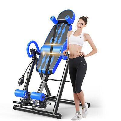Foldable Inversion Table Premium Gravity Back Therapy Fitness ReflexologyStretch