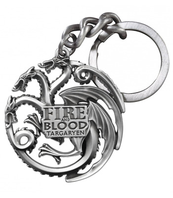 Game of thrones juego de tronos key chain targaryen llavero