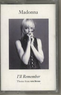 Madonna I'll Remember UK cassette single W0240C WARNER 1994