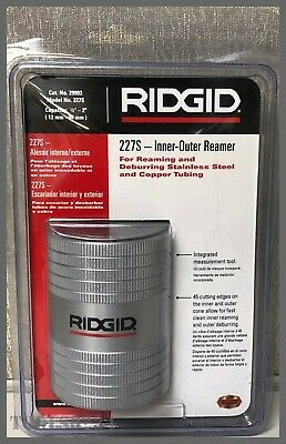 "RIDGID 29993 Inner Outer Reamer 1/2"" - 2"" for Copper and Stainless Tubing Pipe"