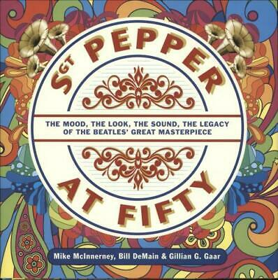Beatles Sgt Pepper At Fifty UK book 978-1-78558-444-2 OMNIBUS 2017
