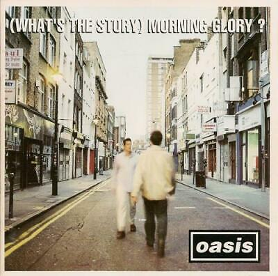 Oasis (What's The Story) Morning Glory? UK CD album (CDLP) CRECD189 CREATION