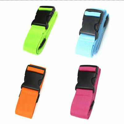 Lockable Durable Bag Bungee Luggage Straps Baggage Security Travel Packing Belt