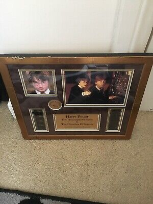 harry potter the philosophers stone & chamber Of secrets Limited edition Filmcel