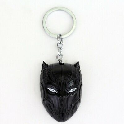 Black panther the avengers los vengadores marvel key chain llavero metal