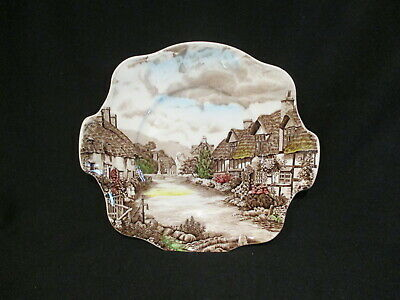 Johnson Brothers - OLDE ENGLISH COUNTRYSIDE - Handled Cake Plate