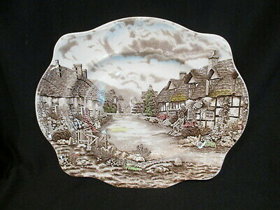 Johnson Brothers - OLDE ENGLISH COUNTRYSIDE - Oval Platter 15 inch