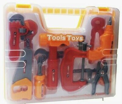 15 Pieces Complete Kids Toy Tools Set – Fun Tool Box Kit For Kids, Toddlers