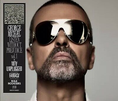 George Michael Listen Without Prejudice Vol 1 MTV Unplugged 2 CD *NEW & SEALED*
