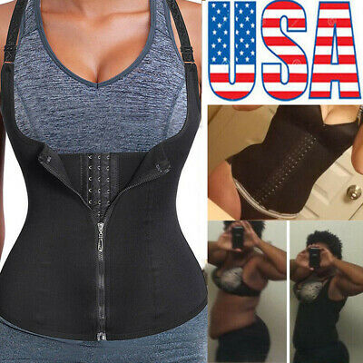 Women Body Shaper Underbust Tummy Control Waist Trainer Cincher Corset Shapewear