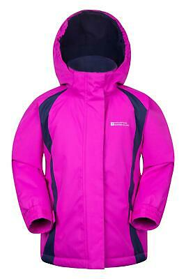 Mountain Warehouse Kids Ski Jacket Snowproof Fleece Lined Boys Girls Winter Coat