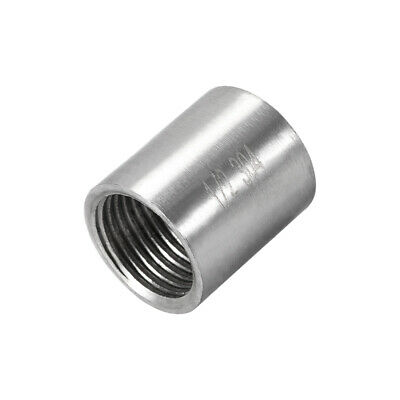 Stainless Steel 304 Cast Pipe Fittings Coupling Fitting 1/2 x 1/2 G Female