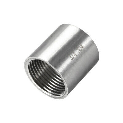 Stainless Steel 304 Cast Pipe Fittings Coupling 3/4 x 3/4 G Female