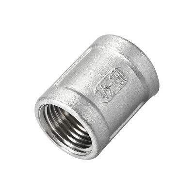 Stainless Steel 304 Cast Pipe Fittings Coupling 1/2 x 1/2 G Female