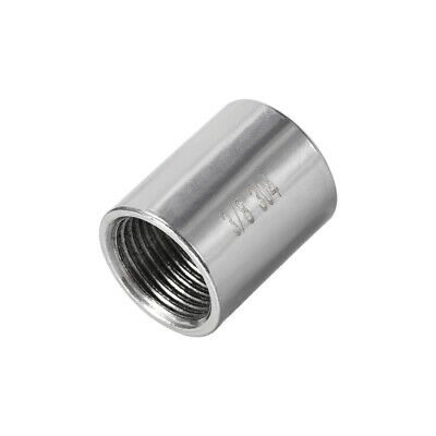 Stainless Steel 304 Cast Pipe Fittings Coupling Fitting 3/8 x 3/8 G Female