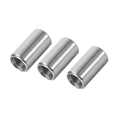 Stainless Steel 304 Cast Pipe Fittings Coupling Fitting 1/8 x 1/8 G Female 3pcs