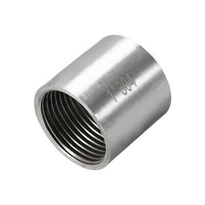 Stainless Steel 304 Cast Pipe Fittings Coupling 1 x 1 G Female