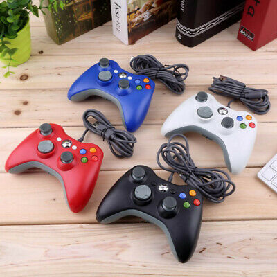 New Xbox 360 Controller USB Wired Game Pad For Microsoft Xbox 360 Official Good